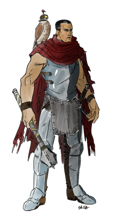 Dante coloured
